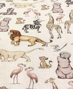 Tissu coton disney le roi lion