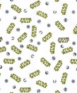 Tissu coton logo Star Wars