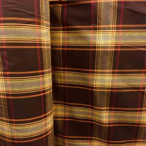 Tissu coton madras 078
