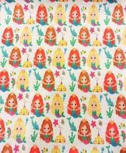 Tissu coton princesse