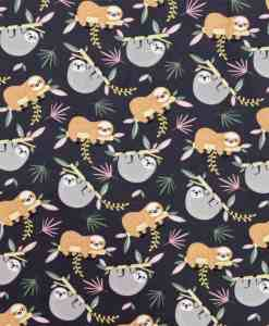 Tissu jersey de coton paresseux
