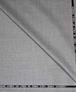 gray woolen cloth by Carlo Barbera