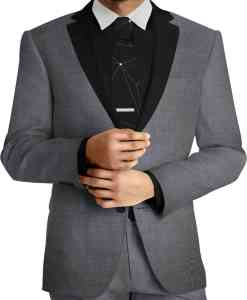 gray wool fabric yarn pure wool suit wire