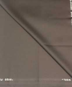 Tissu lainage marron merino wool