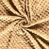 Tissu minky camel