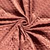 Tissu minky rose
