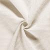 Tissu nid d'abeilles blanc cassé