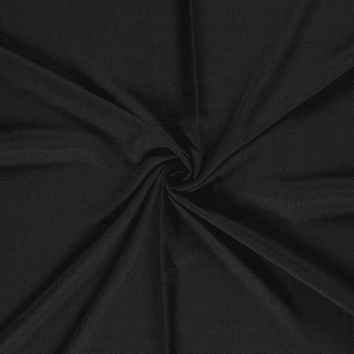 Tissu polyester panama beige noir