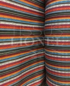 Tissu poncho mexicain 015