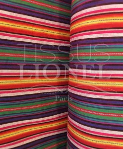 Tissu poncho mexicain 016