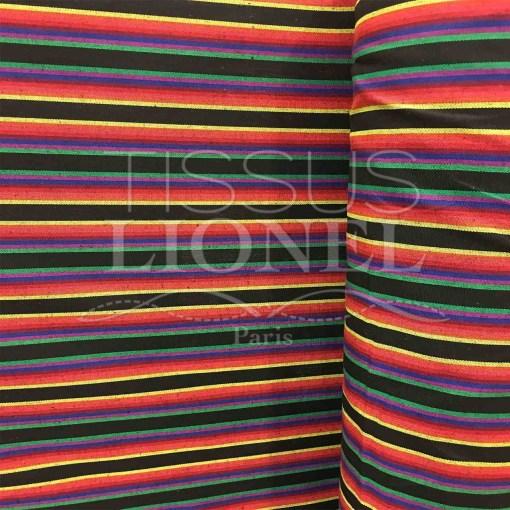 Tissu poncho mexicain 019