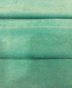 Tissu suédine vert canard