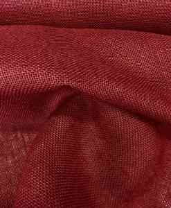 burgundy burlap fabric