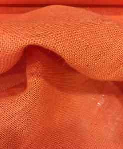 Fabric orange burlap