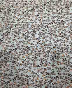 Tissu toucher de soie motif florales 5
