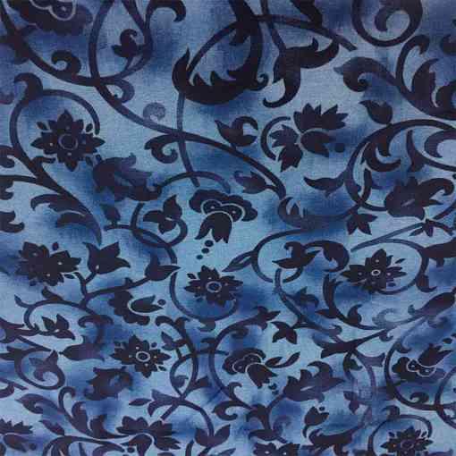 Tissu viscose arabesque