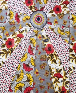 Ткань воска смешанных свадебные цветы