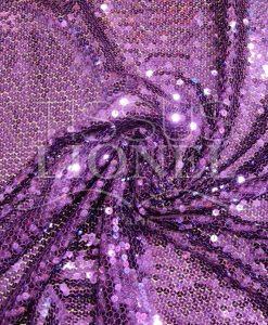 tulle pailleté violet