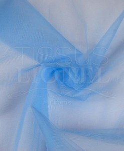 blue flexible tulle