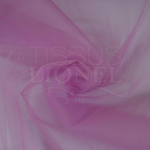 tulle souple lilas clair