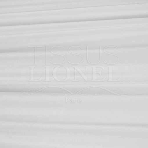 velour lisse blanc