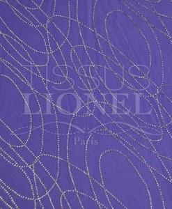 бархат блестками фиолетовый блестящий серебряный круговой
