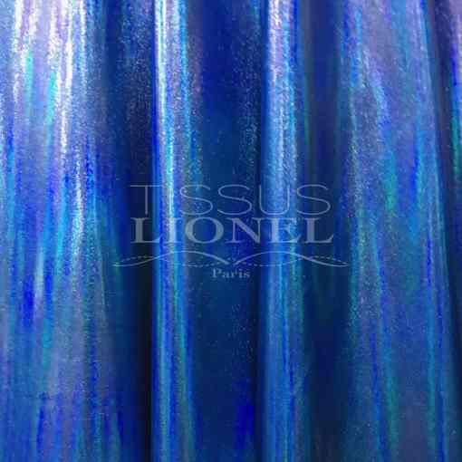 Vinyl hologramme bleu