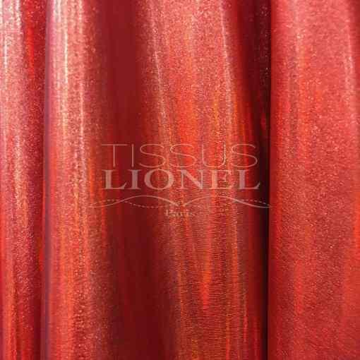 Vinyl hologramme rouge