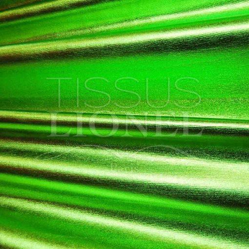 vinyl lamé vert anis