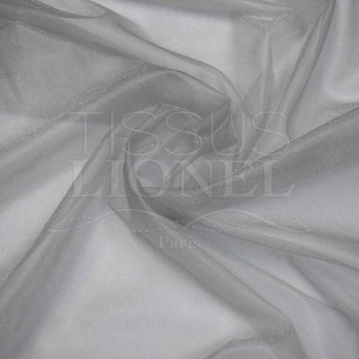 voile cristal gris clair