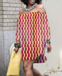 coton imprimé africain 018