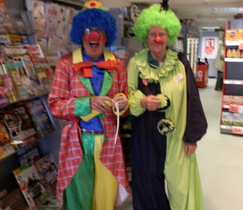 Co Op Fun Charity Raising and Pedro The Balloon Man