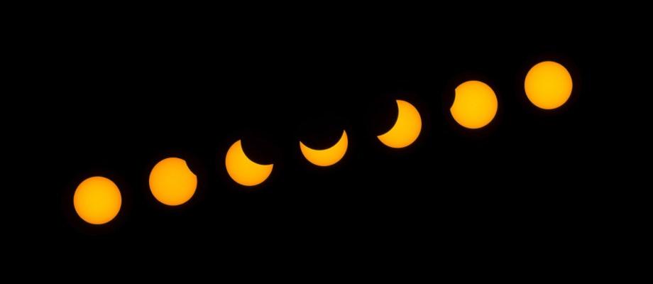 A 2015. március 20-i napfogyatkozás, a hintaló mellől