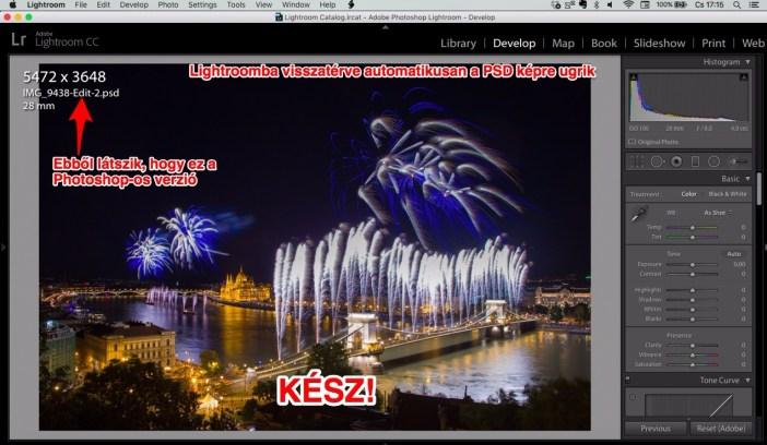 Lightroom develop panel PSD file