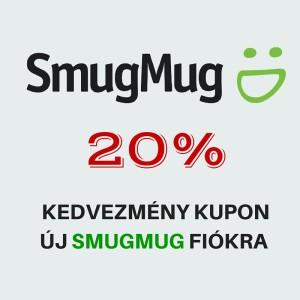 Smugmug 20% kupon