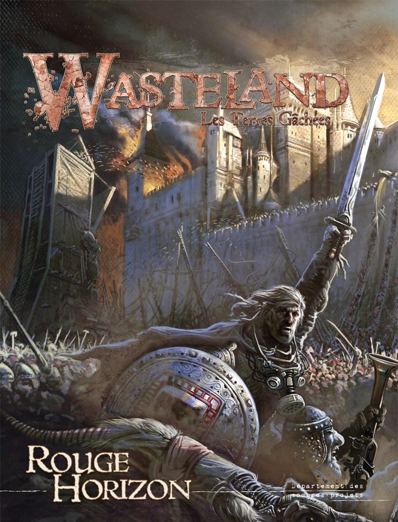 WASTELAND - Les Terres Gâchées - IV Rouge Horizon