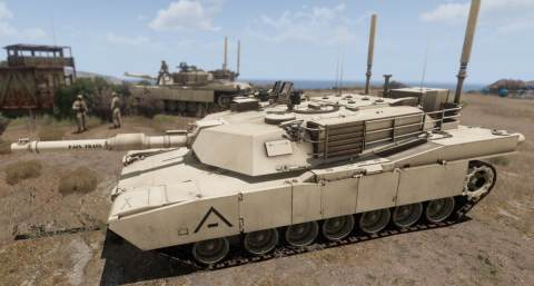 M1 Abrams RHS