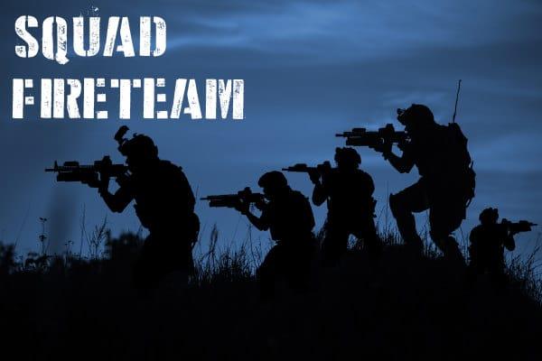 Arma 3 squad fireteam
