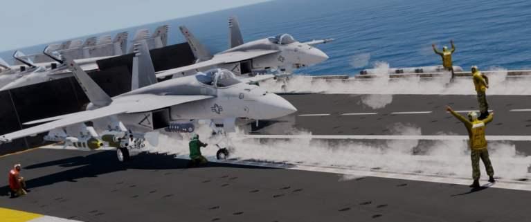 ArmA 3 Nimitz Clan F-18 Start TeTeTe