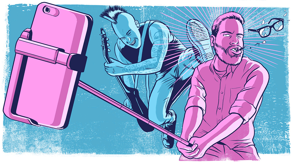 The Selfie Stick Is Killing The Human Brain