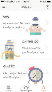 Headspace App Review Singles