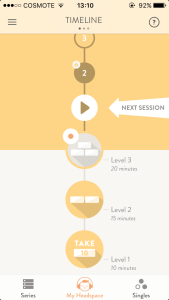 Headspace App Review Timeline
