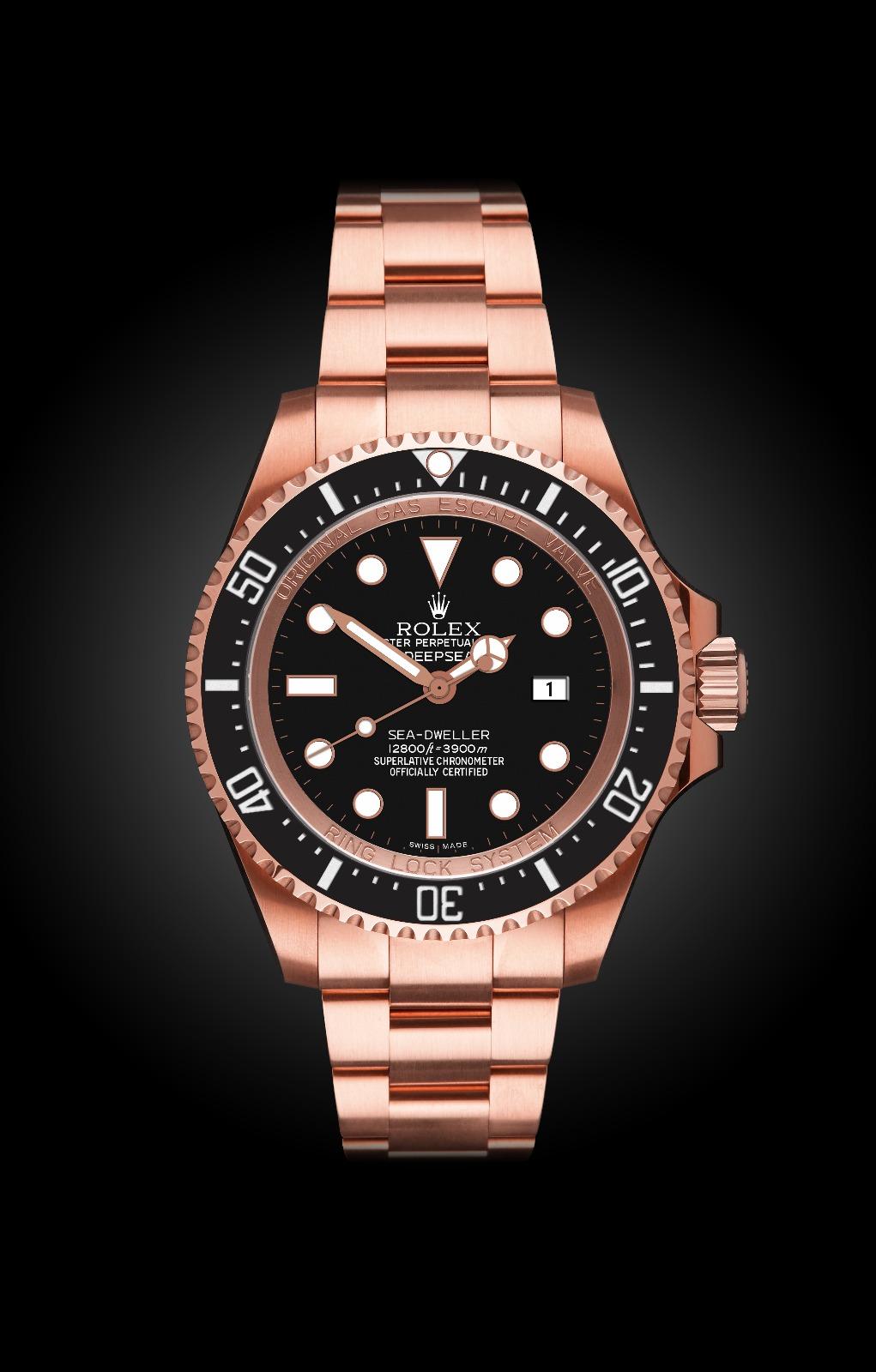 Rolex Deep Sea Ros Oro Titan Black
