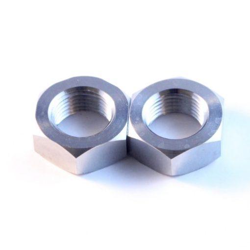 """5/8"""" titanium plain nut"""