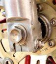 titanium axle bolt