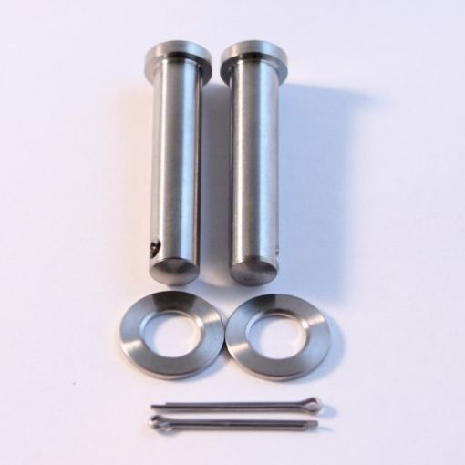 titanium footpeg clevis pins