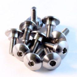 Suzuki 09139-05054 TITANIUM fairing bolt