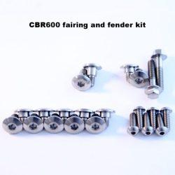CBR600 titanium fairing kit 1995