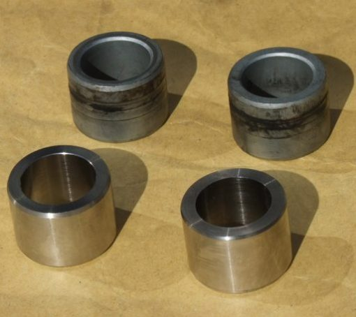 axle spacers new and old