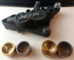 TITANIUM caliper pistons for NISSIN caliper